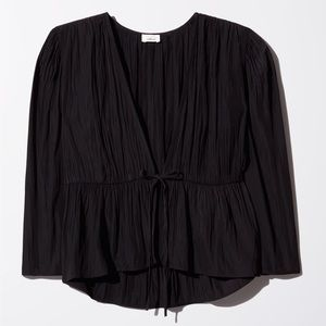 Wilfred Shanina Front Tie Blouse
